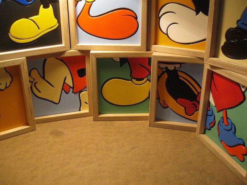 """""""Cartoon's Feet"""", esposizione personale delle opere dell'artista CUT"""