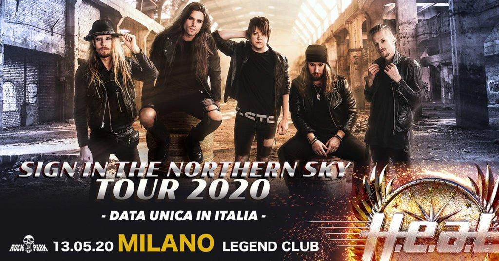 H.E.A.T Live al Legend Club di Milano