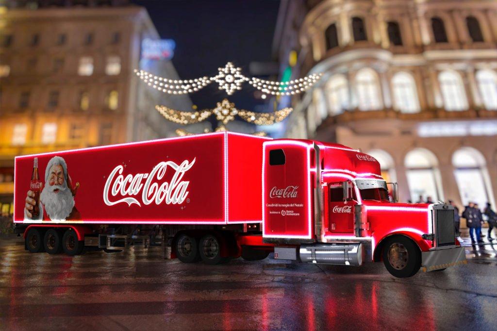 Milano Natale 2019 - Truck Coca Cola