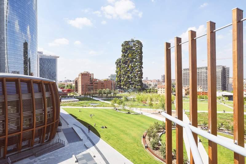 BAM - Biblioteca degli Alberi Milano - weekend Sant Ambrogio 2019