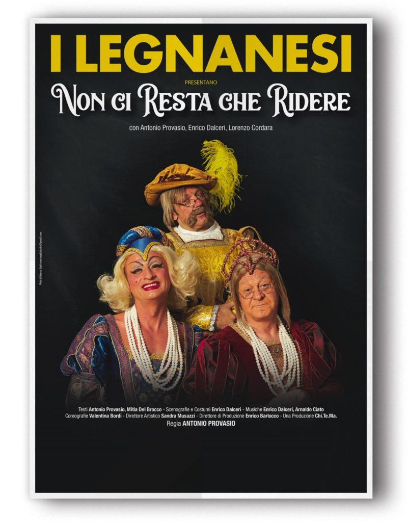 I Legnanesi – Non ci resta che ridere al Teatro della Luna Assago (Milano)