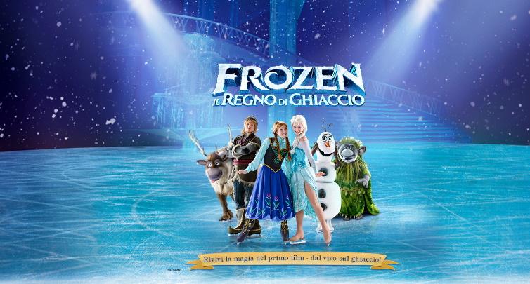 """""""Disney On Ice: FROZEN, Il regno di ghiaccio""""  a Milano"""