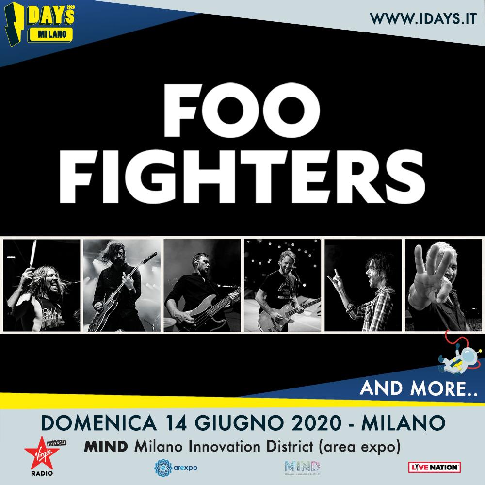 Foo Fighters in concerto a Milano