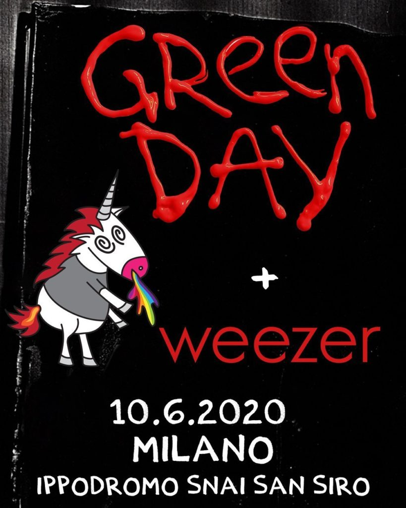 Green Day in concerto a Milano