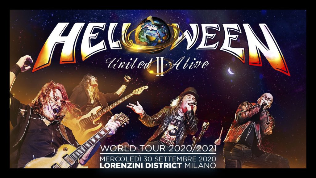 Helloween in concerto a Milano