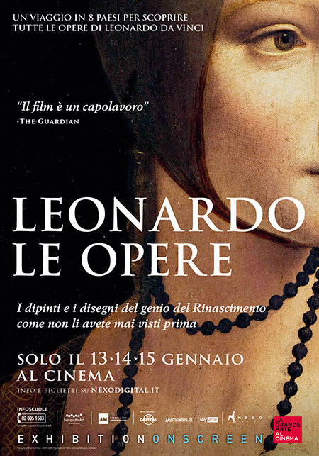 Leonardo. Le Opere al Cinema