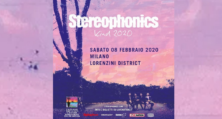 Stereophonics in concerto a Milano