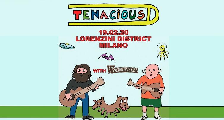 TENACIOUS D in concerto a Milano