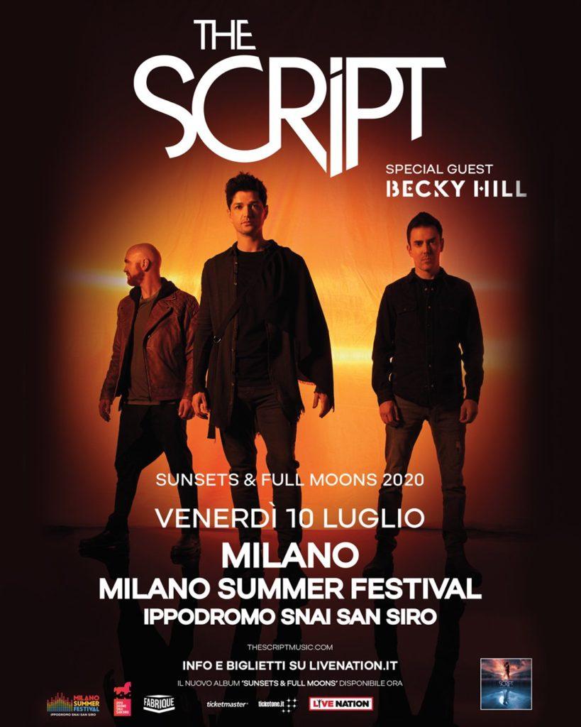 The Script in concerto a Milano
