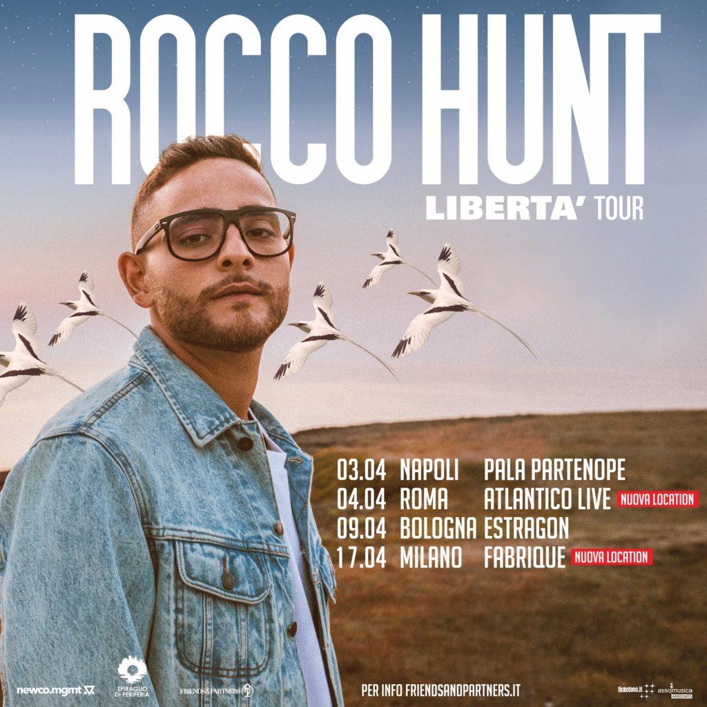 Rocco Hunt in concerto a Milano