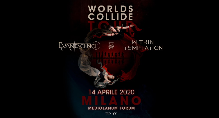 Evanescence in concerto a Milano con  i Within Temptation