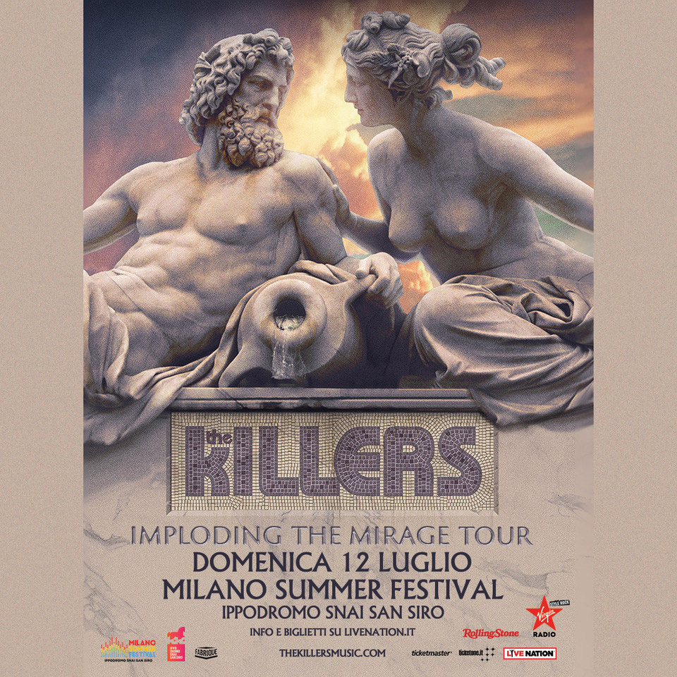 The Killers in concerto a Milano