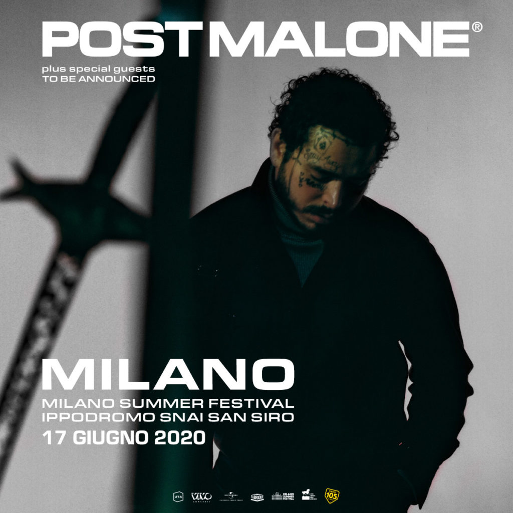 Post Malone in concerto a Milano