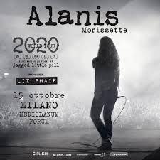 Alanis Morissette in concerto a Milano