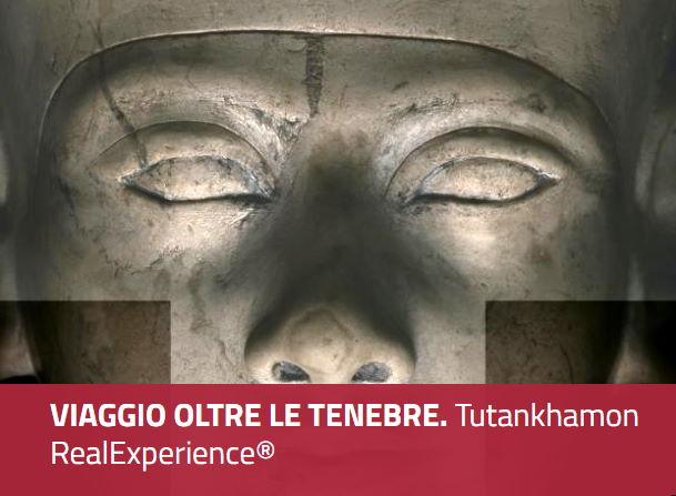 Il viaggio oltre le tenebre. Tutankhamon real experience. Palazzo Reale Milano