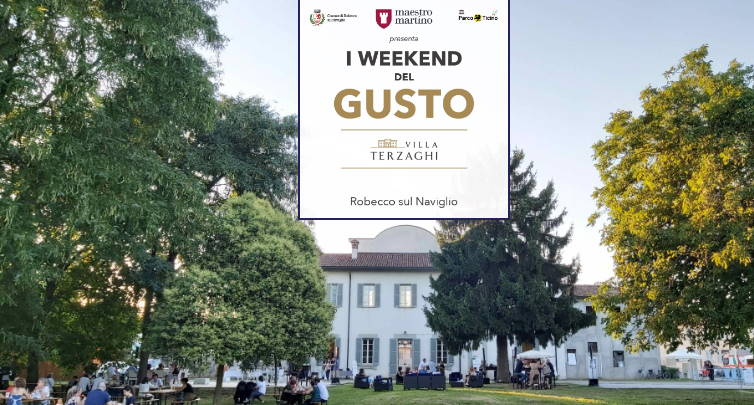 I Weekend del Gusto a Villa Terzaghi