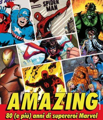Amazing, 80 anni di supereroi Marvel - Museo del Fumetto Milano