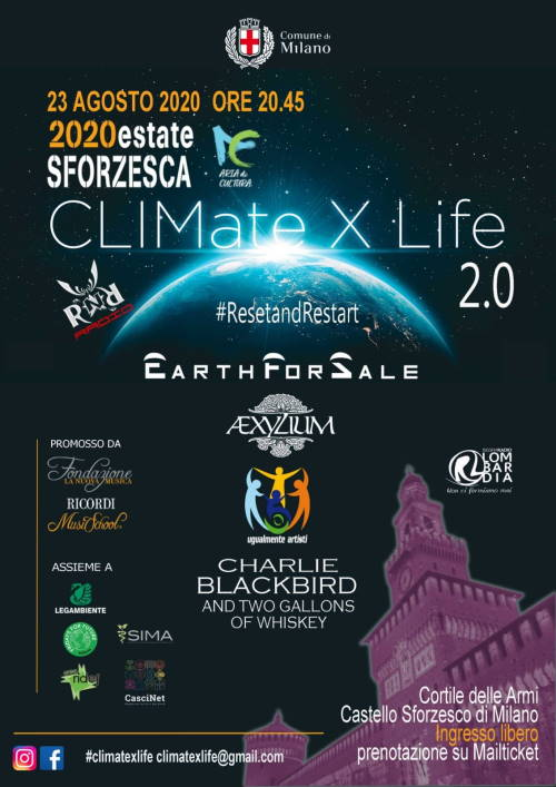 CliMATE X LIFE 2020 (2.0) - Reset and Restart. Milano