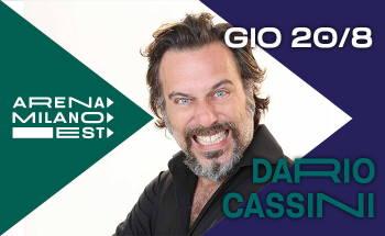 Dario Cassini in Spettacolo senza Glutine all'Arena Milano Est