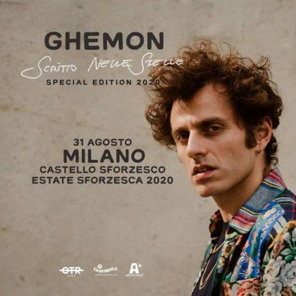 GHEMON Live con Scritto nelle Stelle a EstateSforzesca Milano
