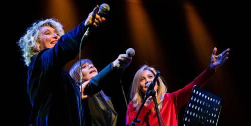 Le cantautrici Rossana Casale, Grazia Di Michele e Mariella Nava arrivano all'Arena Milano Est