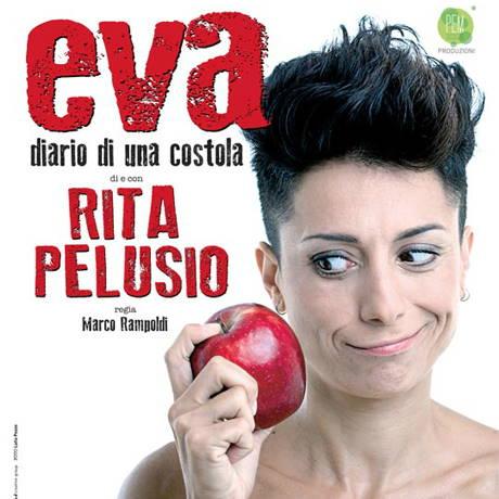"""Rita Pelusio con """"Eva. diario di una costola"""""""