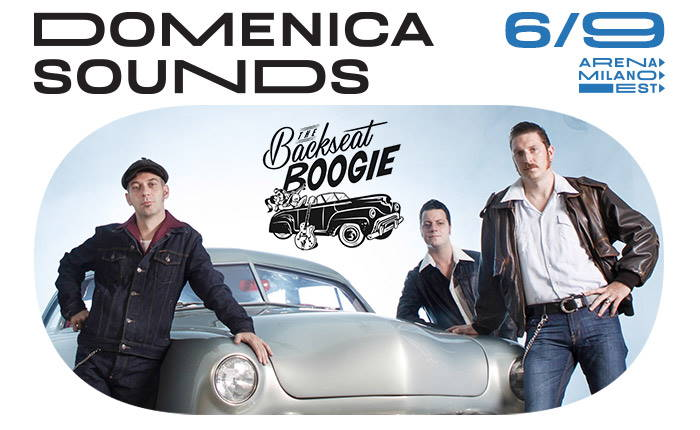 The Backseat Boogie live all'Arena Milano Est