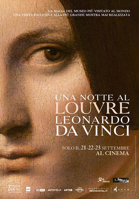 Documentario  - Una notte al Louvre. Leonardo Da Vinci - Cinema Milano