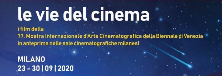Le vie del cinema 2020 - Milano