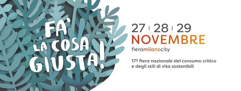 Fa' la cosa giusta! 2020 - Milano