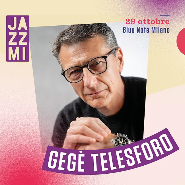 JAZZMI - GeGè Telesforo Live al Blue Note di Milano