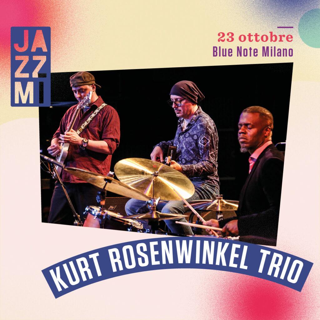 JAZZMI - Kurt Rosenwinkel Trio Live al Blue Note di Milano
