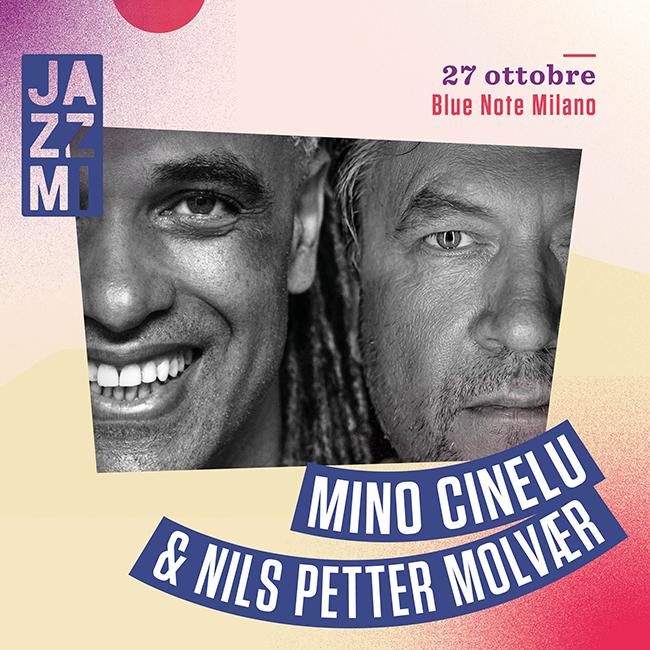 Mino Cinelu & Nils Petter Molvaer Livea al Blue Note di Milano