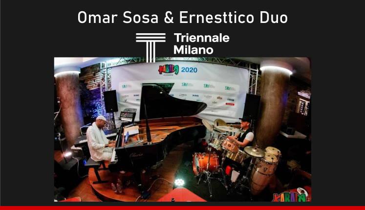 JAZZMI - Omar Sosa & Ernesttico Duo Live al Triennale Milano