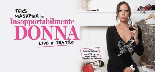 Tess Masazza con Insopportabilmente Donna al Teatro Nazionale - Milano