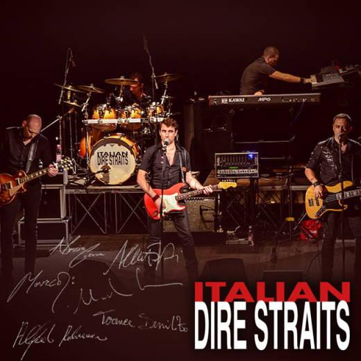 iTALIAN dIRE sTRAITS Live al Blue Note di Milano