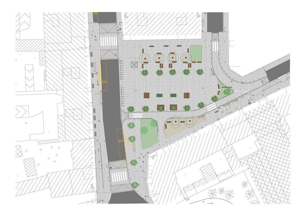 Dergano - Riqualificazione piazza Dergano Milano (2020)