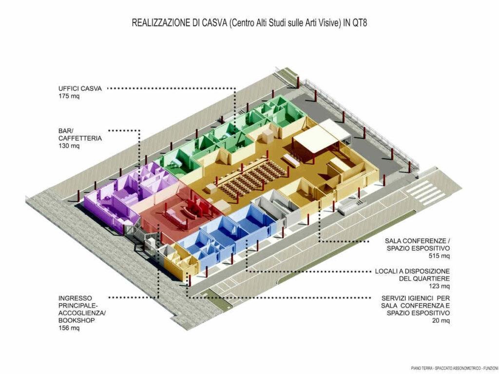 """QT 8 - CASVA """"Centro alti studi per le arti visive"""""""