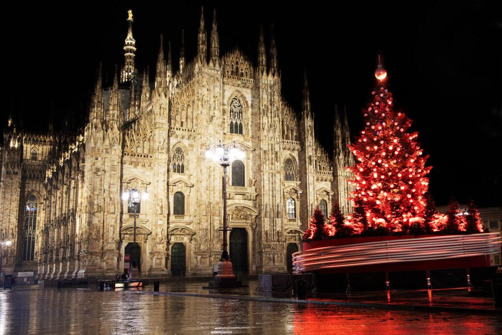 Albero di Natale Coca-Cola - piazza Duomo Milano