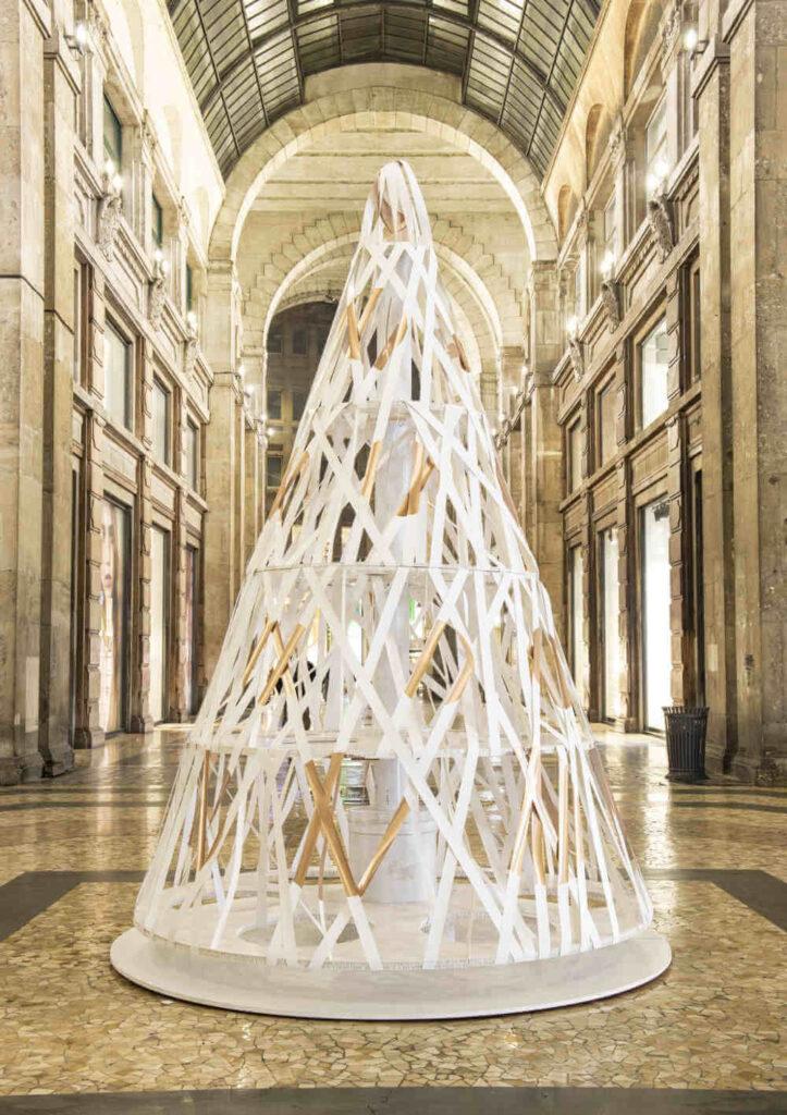 One Filament Paper Tree - Qwarzo