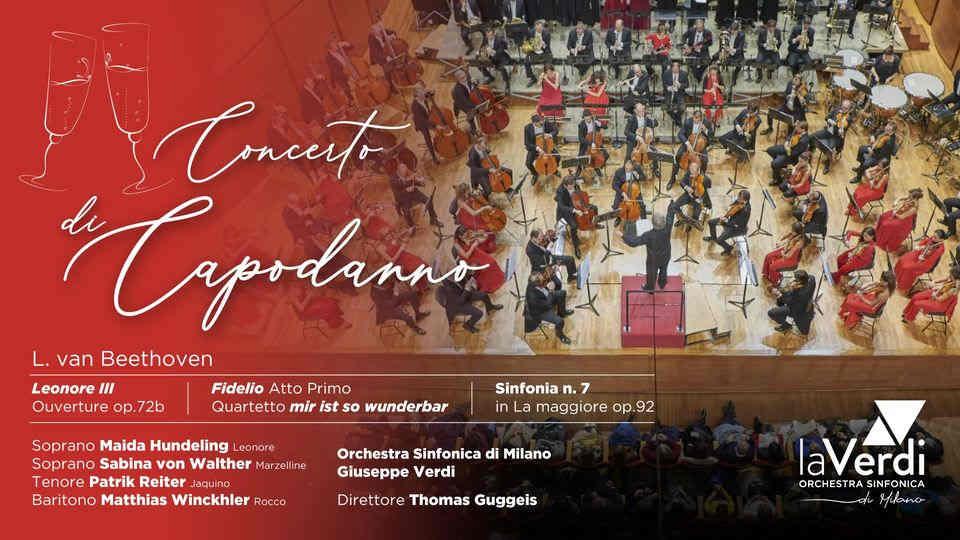 Milano - Concerto di Capodanno 2021 - Orchestra Sinfonica laVerdi