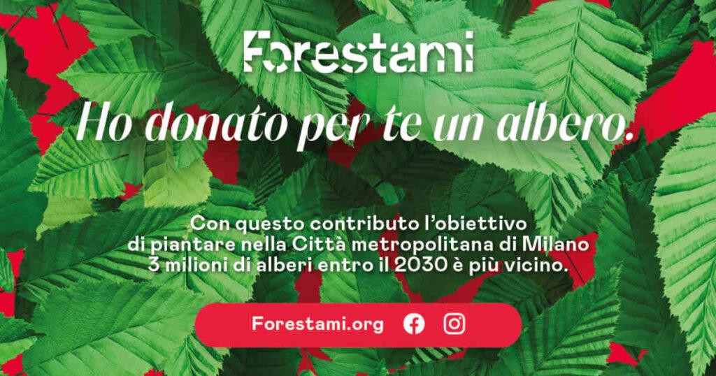 Natale Milano 2020 - Ho donato per te un albero
