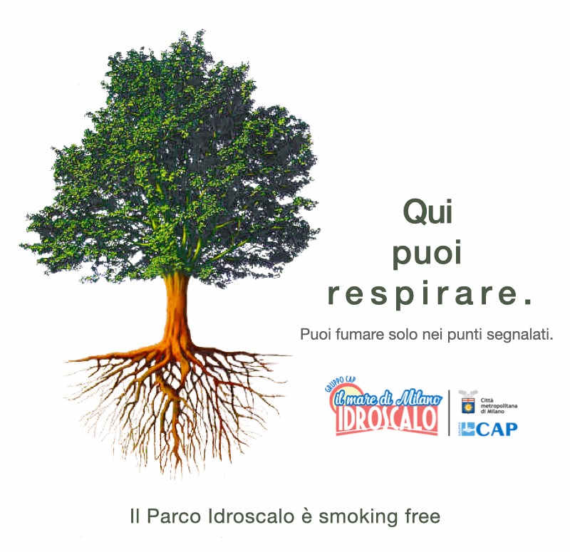 Parco Idroscalo Milano - Smoking Free