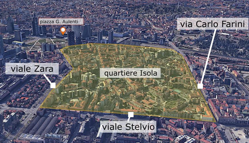 Quartiere Isola Milano - ZTL dal 2022