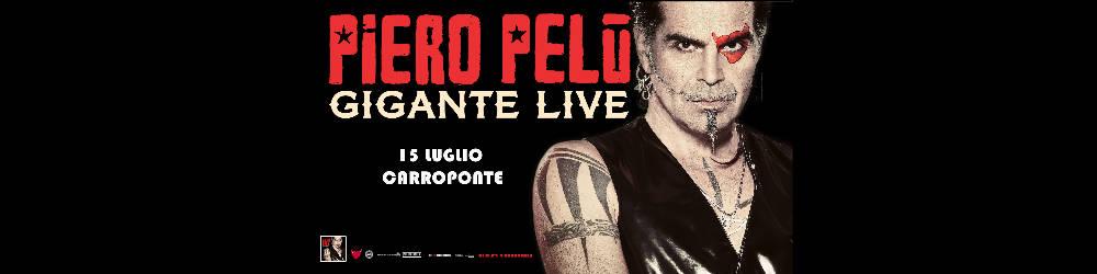 Piero Pelù in concerto Carroponte Milano