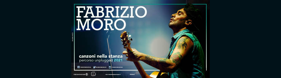 Fabrizio Moro in concerto al Carroponte - Milano