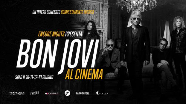 Bon Jovi  al cinema - Milano