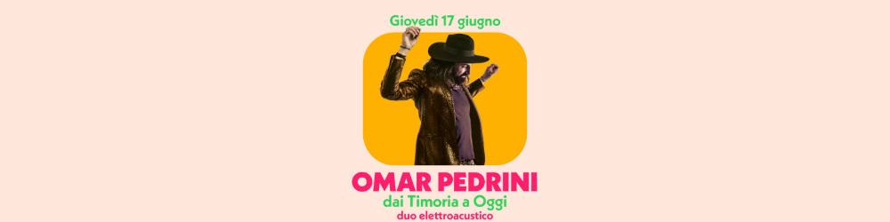 Omar Pedrini - Circolo Magnolia Segrate Milano