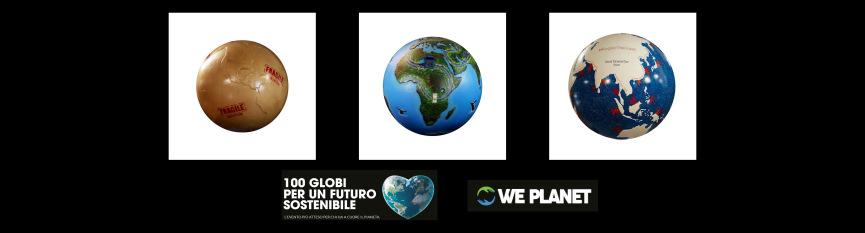 Globi per la Gionata mondiale degli Oceani - Milano