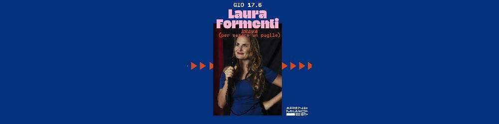 Laura Formenti con Brava (per essere un pugile) - Arena Milano Est